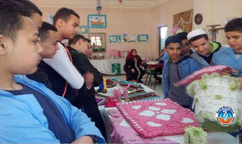 visite to the centre of handicap children