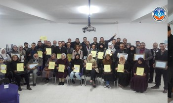 the first national workshop by the teacher of English « Mehdi Bra